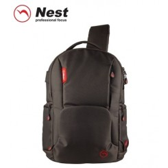 Nest Athena A50 sling style travel DSLR camera bag - Brown